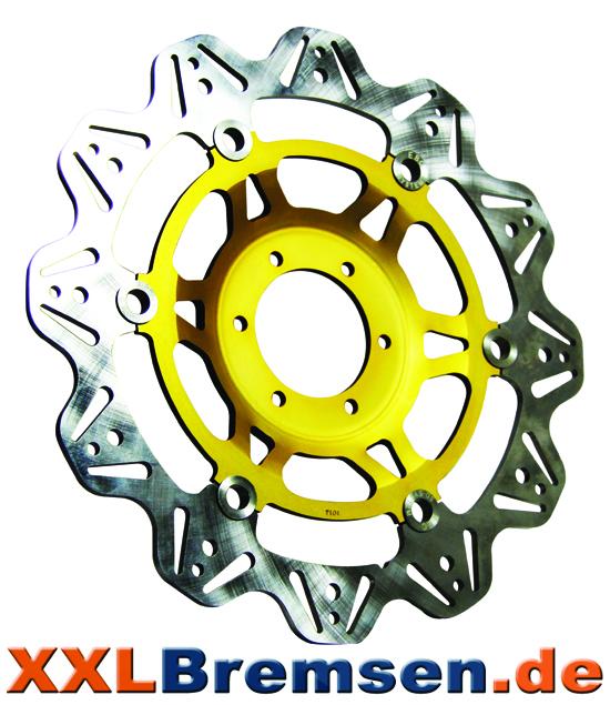 EBC Brakes Vee Rotors in gelb
