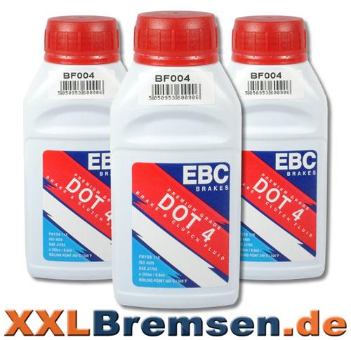 EBC DOT 4 Bremsfluessigkeit im Online Bremsen Shop