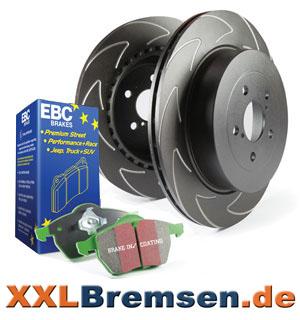 EBC High Carbon Bremsscheiben und EBC Greenstuff Bremsen