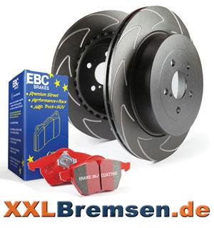EBC Redstuff Bremsbelaege und High Carbon Bremsscheiben