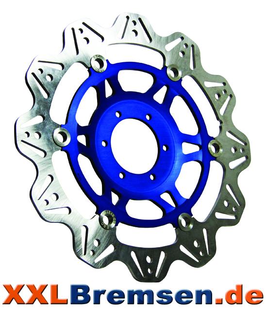 EBC Vee Motorrad Bremsscheiben blau