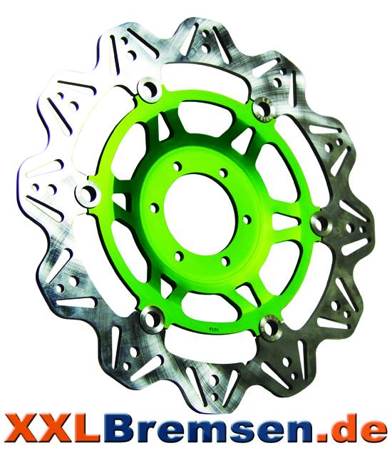 Gruene EBC Brakes Vee Rotors Bremsscheiben