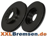 schwarze Bremsscheiben EBC Premium