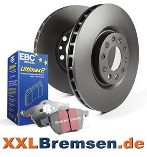 Bremsscheiben und Blackstuff Ultimax 2 Bremsbeläge